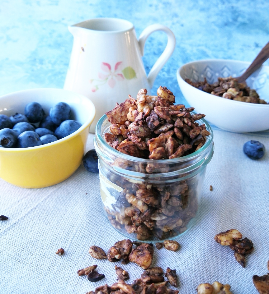 chocolate for breakfast | A Little Nutty - granolas ...